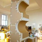 Projekt Jeff Koons | Rohform Schokoriegel